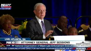IN CASE YOU MISSED IT: AG Sessions Speaks with Black Law Enforcement in Atlanta