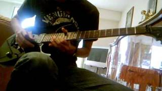 "Arch Enemy ""Pilgrim"" Guitar Cover By Julien"