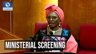 Senate Screens Ministerial Nominees Pauline Tallen