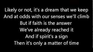 Dream Theater-Only A Matter Of Time (Lyrics)
