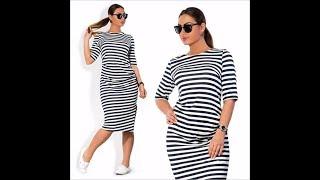 Летняя Одежда с AliExpress/Платье большого размера