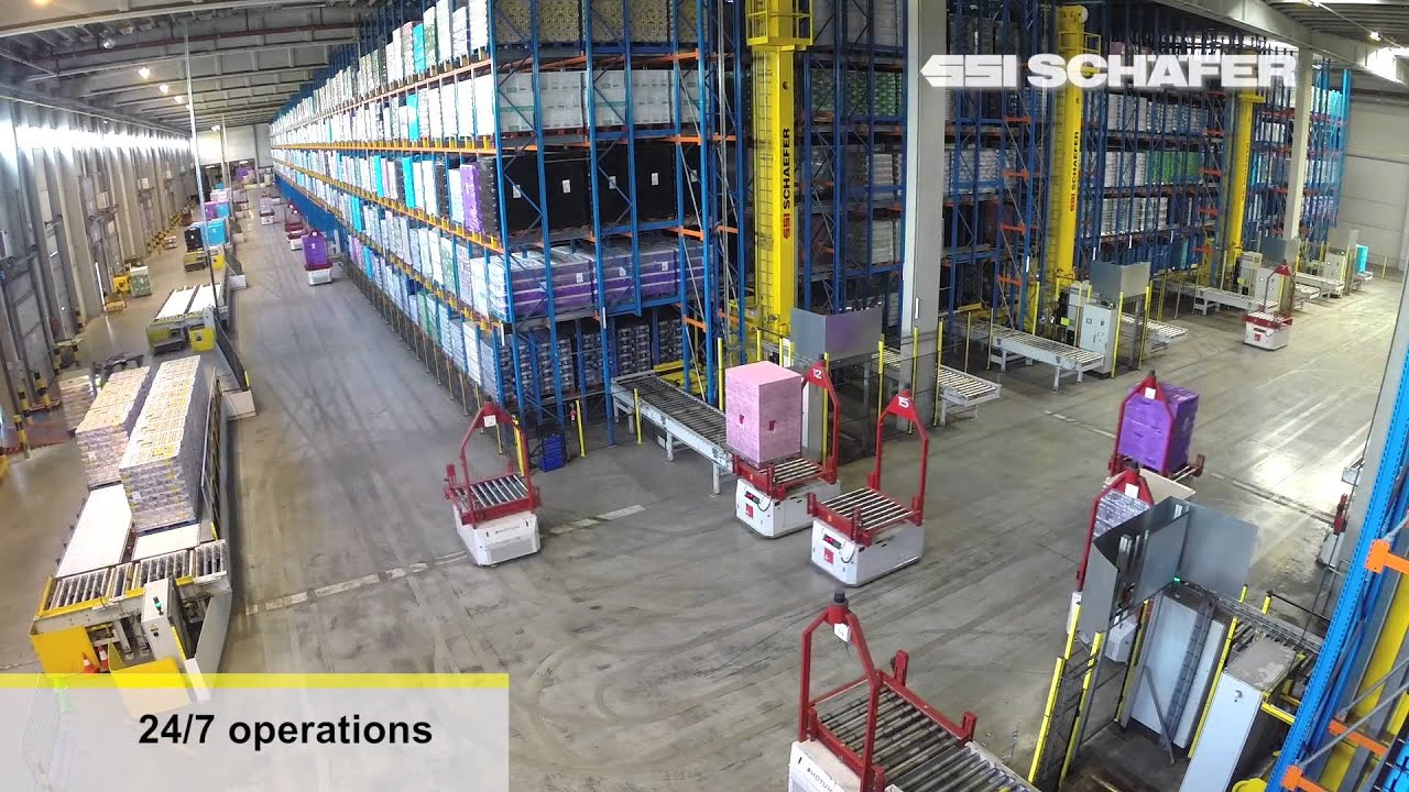 Automated Guided Vehicles, Storage and Retrieval Machines