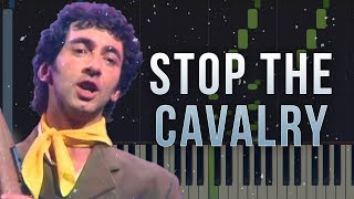 Stop The Cavalry - Jona Lewie | Piano Tutorial & Sheets