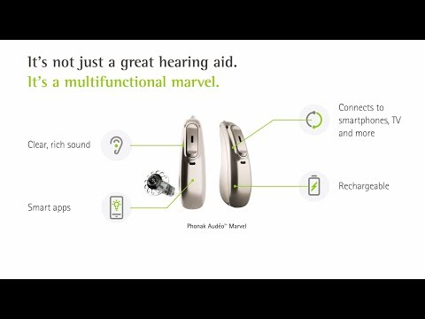Phonak Audeo Marvel 30 RIC Hearing Aid