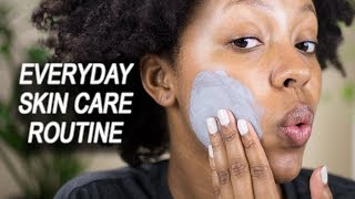 EVERYDAY SKIN CARE ROUTINE FOR OILY SKIN MORNING AND NIGHT