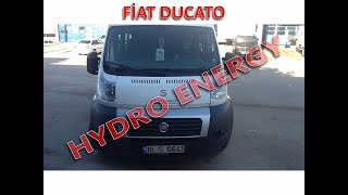 Fiat Ducato hidrojen yakıt tasarruf sistem montajı