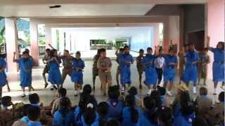 preview picture of video 'เด็กท้ายช้าง ป 4 ซ้อมเต้นกังนัม'