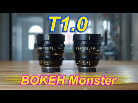 17mm & 25mm T1.0 Ultra Fast MFT cine lenses, Zhongyi Mitakon - RED35 Review