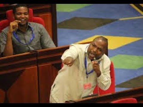 Mbunge 'LUSINDE' Akichangia Hoja Leo Bungeni!