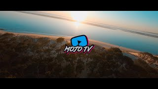 FPV LONG RANGE CINEMATIC - Flying over the sea at sunset ????