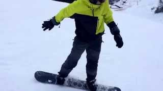preview picture of video 'Donovaly Snowboarding Adamm&Mate 2015'