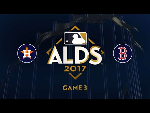 Ramirez's big day leads Sox to win in Game 3: 10/8/17