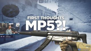 CS:GO ADDS THE MP5?!