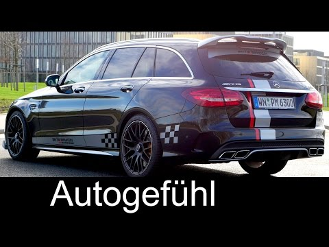 Mercedes C-Class C63S AMG Sound & Acceleration test 0-200 km/h 0-125 mph performmaster