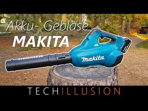 🛠DAS MUST HAVE - Makita Akku Gebläse DUB362Z - Review & Test