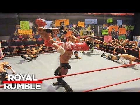 40-Man Royal Rumble Match: WWE Royal Rumble 2018 (Part 1) (видео)