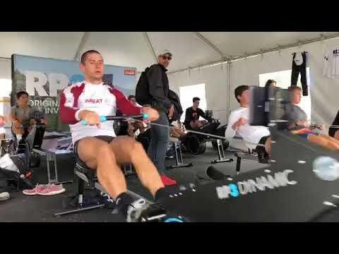 Sverri Nielsen - Чемпион Европы 2020 M1x  Дания, разминка на RP3