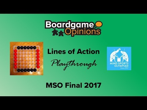 BGO Playthrough: Lines of Action MSO Final 2017