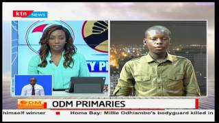 Dramatic scenes in Migori County as two different presiding officers give different results