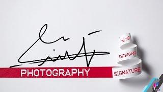 مازيكا طريقة عمل توقيع شخصي بدقة واحتراف على الفوتوشوب || How to make a professional signature in Photoshop تحميل MP3