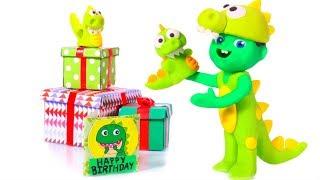 Dinosaur Birthday Party ❤ Cartoons For Kids
