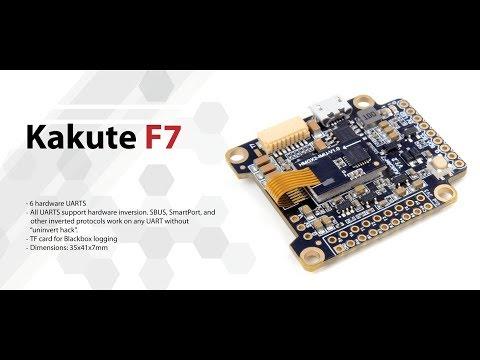 Holybro Kakute F7 Atlalt HV V2 Tekko32 35A em português (Banggood)