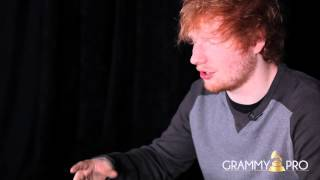 GRAMMY Pro Interview with Ed Sheeran