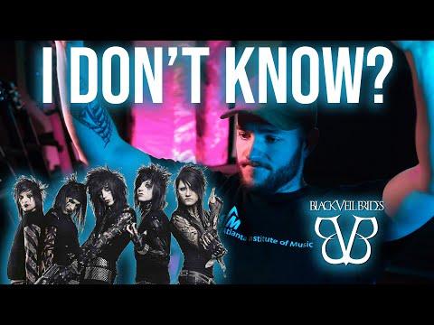 BLACK VEIL BRIDES | Saints Of The Blood (Official Music Video) REACTION