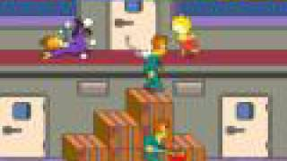 Arcade Longplay [117] The Simpsons Arcade Game