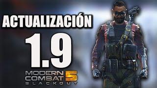 ¡Waaaaaooo! Análisis de la Actualización 1.9 en Modern Combat 5
