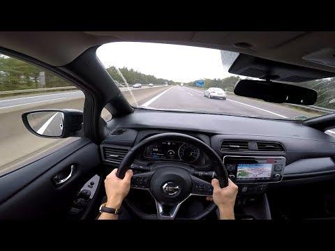 Nissan Leaf (2018)   POV Autobahn (mit Höchstgeschwindigkeit!) TOP SPEED