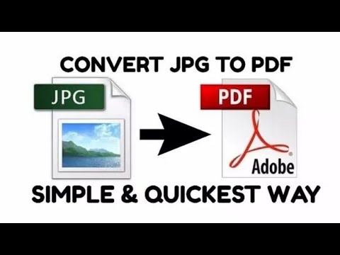 How To Convert JPG To PDF | Without Converter | Offline | Free & Quickest Way