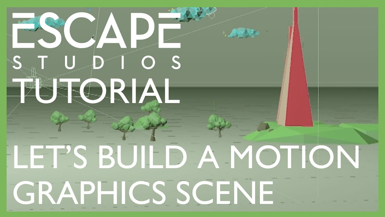 Let's Build A Scene with Motion Graphics!
