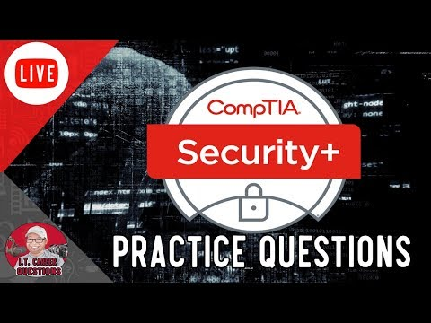 Security+ Practice Questions - YouTube