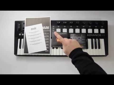 Akai Pro Advance 49 Keyboard - Unboxing