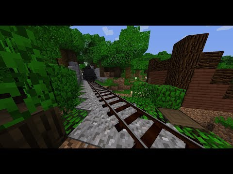 Minecraft Mod Review: Immersive Railroading
