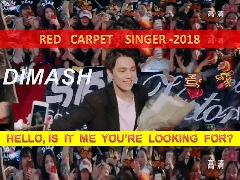DIMASH: HELLO, IS IT ME YOU'RE LOOKING FOR?