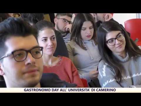 Gastronomo Day all'Università di Camerino