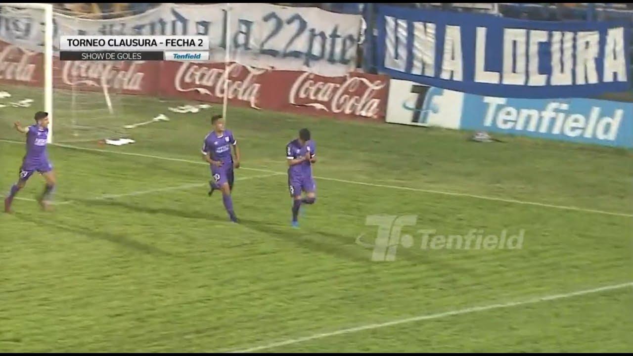 Show de goles de la fecha 2 del Clausura 2019
