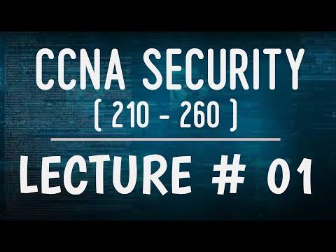 Lecture # 01 | CCNA Security - 210 - 260 | Free Course In Urdu ...