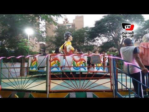 إقبال المواطنين على الحدائق والمنتزهات في ثالث أيام عيد الفطر