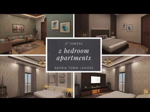 2 Bed Apartments in Bahria Town Lahore, 2 Years Easy Payment Plan JP Towers Booking Started