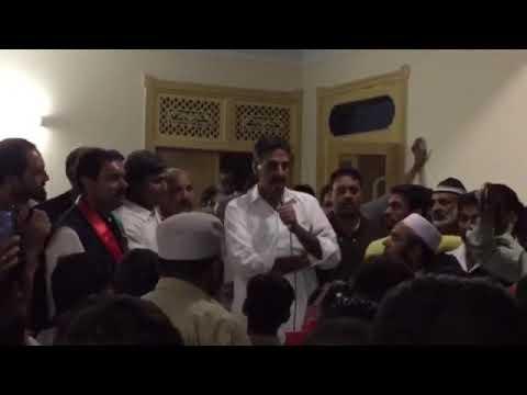 Ch Mazhar Election Day speech 31 Oct 2015