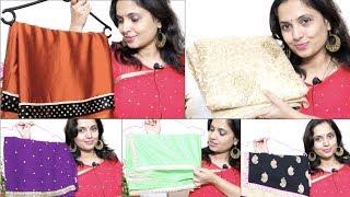 21 ಲೇಟೆಸ್ಟ್ ಸೀರೆ ಡಿಸೈನ್ಸ್   21 Latest Saree Designs Collection - Everyday Fashion & Designer Sarees
