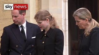 The Earl and Countess of Wessex prepare for a final goodbye