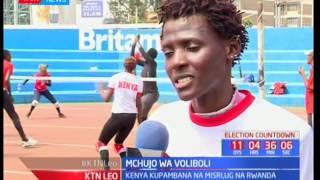 Kinadada wa kikosi cha voliboli ya Kenya wajitosa katika ukumbi wa Kasarani
