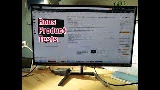 Philips 276E7QDAB/00 27 Zoll Monitor Desktop Screen und Fernseher im Test und Fazit