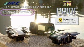 Drone - JJRC H78G 5G WiFi FPV GPS RC - modo duplo posicionamento UAV.