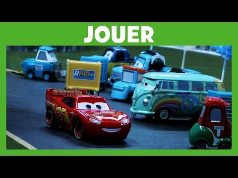 Cars -  Du film à la réalité : L'accident de Flash