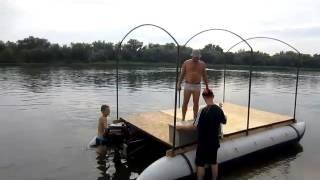 (18+)На плоту по реке Дон